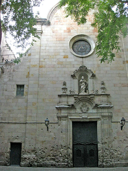 church sant felip neri barcelona