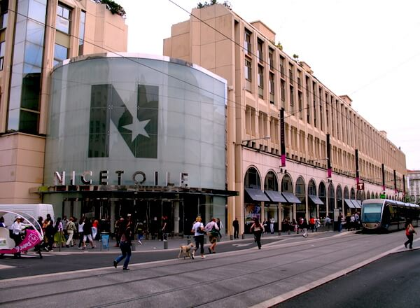 front of shopping mall best of nice