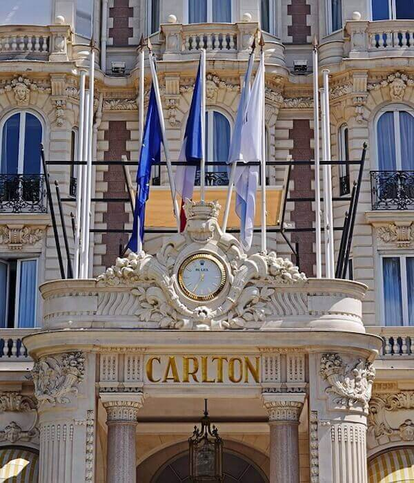 High class hotel carlton day trips from nice