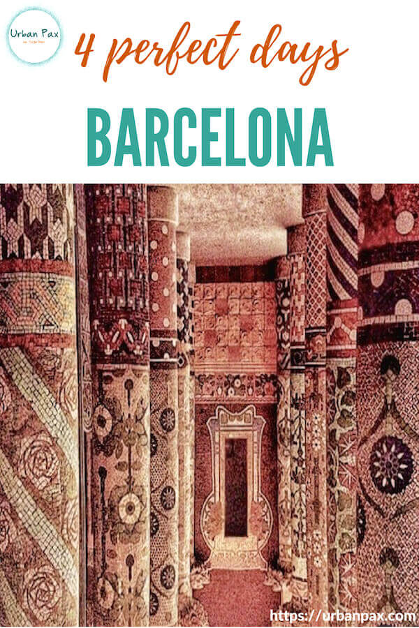 image barcelona musica 4 days itinerary