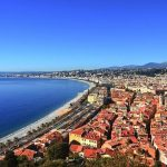 view of nice town and ocean best of nice