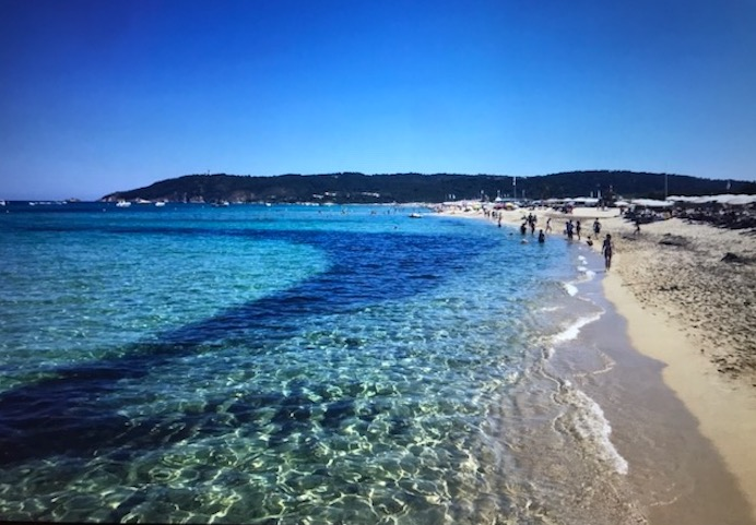 blue sea pampelonne st tropez beaches