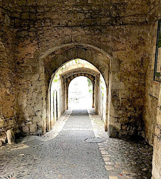 stone archway medieval