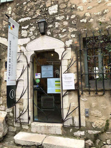 office tourism saint paul de vence
