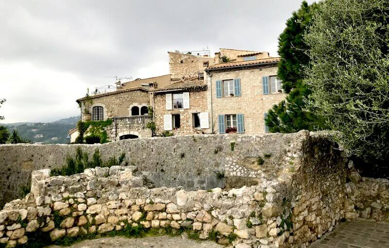 view saint paul de vence buildings