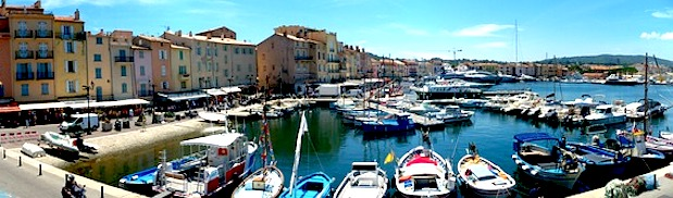 st tropez fish eye vew port day trips from nice