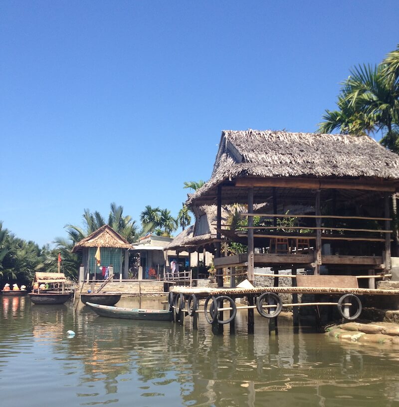 Hoi An floating houses