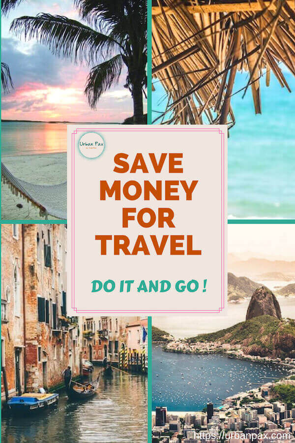 collage save money for travel