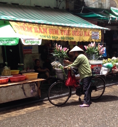flower shop hanoi