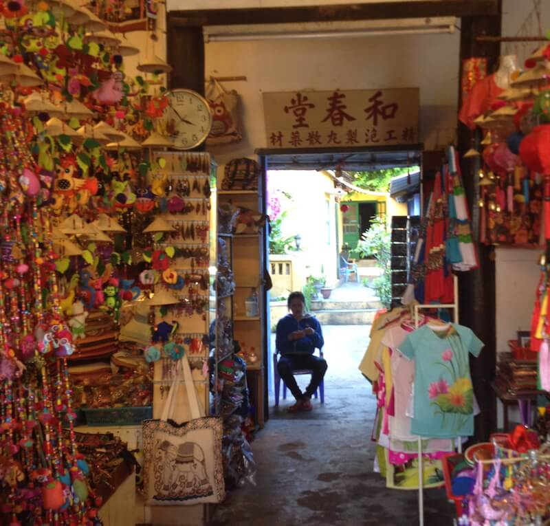 hoian shop with man inside