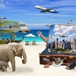 holiday mix elephant planes beach