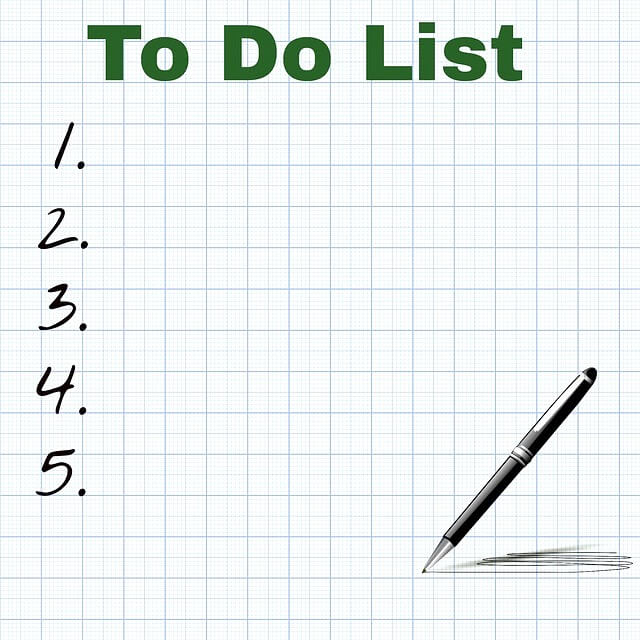 empty to do list simple living lifestyle