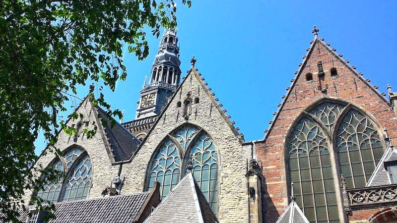 old church steeples amsterdam