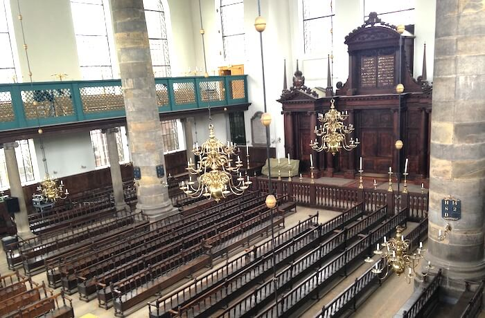 synagogue interior amsterdam
